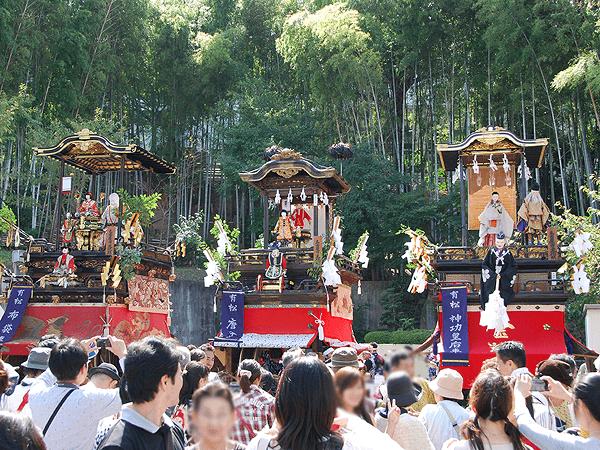 山車 有松 祭り