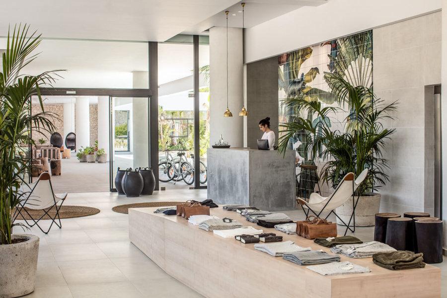 ギリシャのホテルCasa Cook Rhodesのロビーのイメージ。