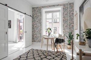 ヨーテボリの美しい明るいアパート