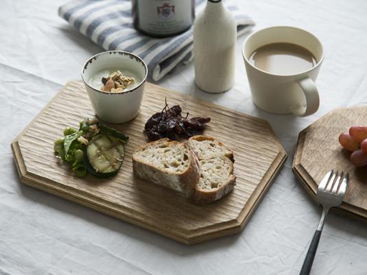 カフェ風 木製 ウッド 食器 コーディネート インテリア
