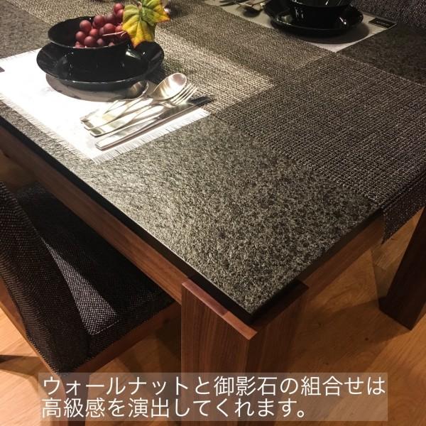 モダンインテリアsongdreamの提案する御影石ダイニングテーブル