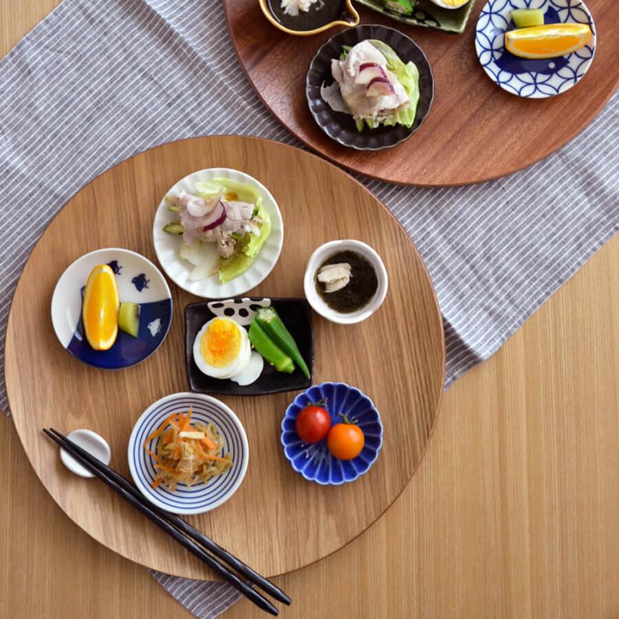 テーブルコーディネート お皿 おしゃれ お箸