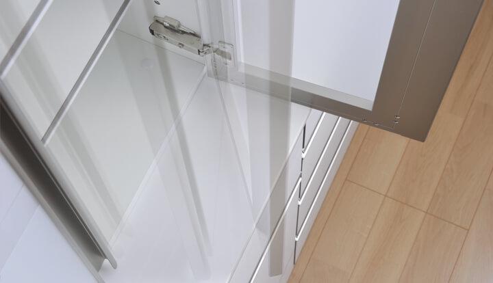 綾野 プロージット 食器棚 セラミック ソフトダンパー