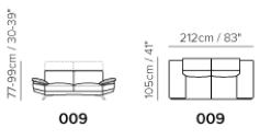 songdreamおすすめ3人掛けレザーソファ背もたれリクライニング機能付きで高い・低い両方調節できる