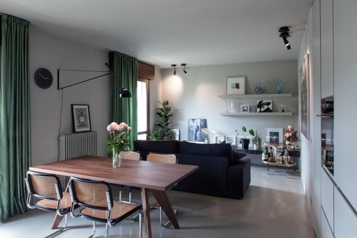 【海外イメージ画像】もう色で迷わない!床の素材が石の部屋のおしゃれなインテリア実例集