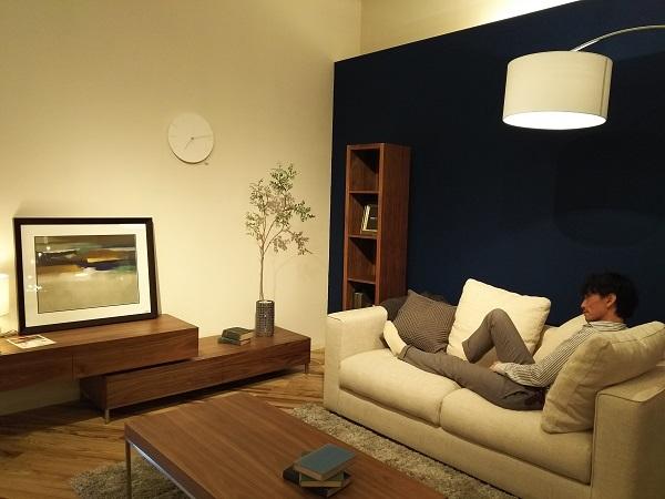 モダンインテリア songdreamの新型ソファ ALTOアルト 寝た場合の画像2