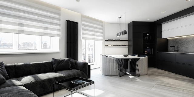 http://www.home-designing.com/monochromatic-grey-scale-black-and-white-dining-room-furniture-decorating-ideas