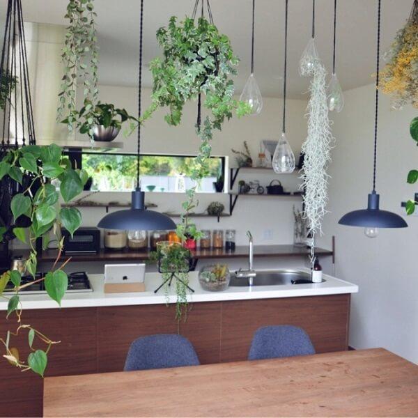 観葉植物のおしゃれな飾り方 リビングダイニング2