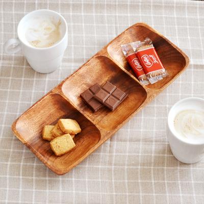 カフェ風 木製 ウッド 食器 コーディネート プレート