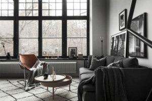 【海外インテリア87選】床が明るい色のフローリングを使用した部屋のおしゃれなインテリア実例集