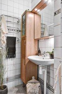 海外インテリアの洗面の画像 洗面は日本に比べるとかなり質素な印象。