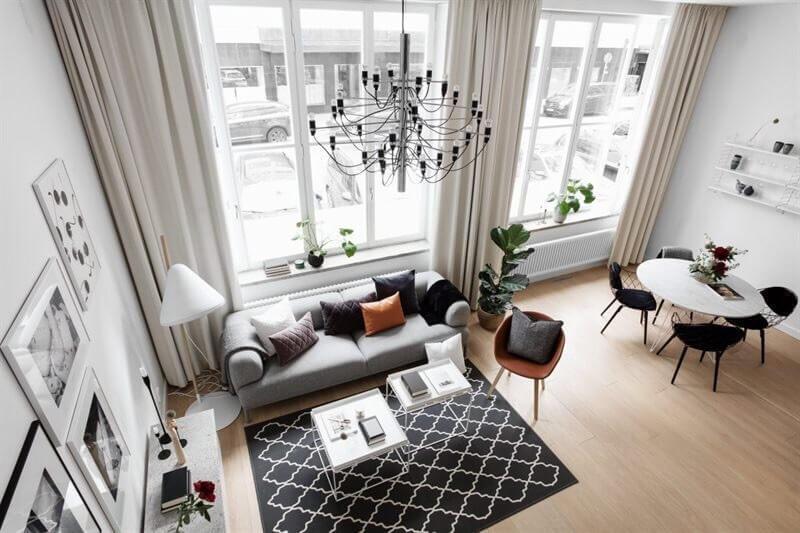 【海外画像】もう色で迷わない!床の色が明るい部屋のおしゃれなインテリア実例集