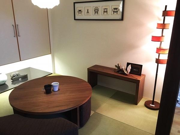 モダンインテリア・家具 songdreamの提案するWalnutのシンプルなデザインのベンチ 和室での利用