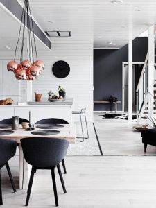 【海外画像】もう色で迷わない!床が白いフローリングのお部屋のおしゃれなインテリア実例集