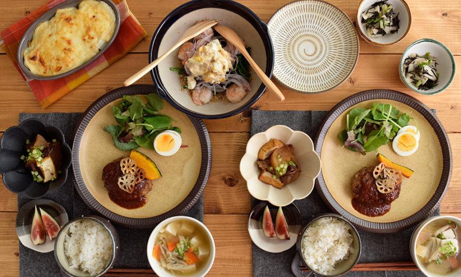 テーブルコーディネート お皿 おしゃれ 和 洋