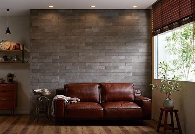 クォーツサイトをモチーフとしたデザインで、 自然な素材感が特徴です。
