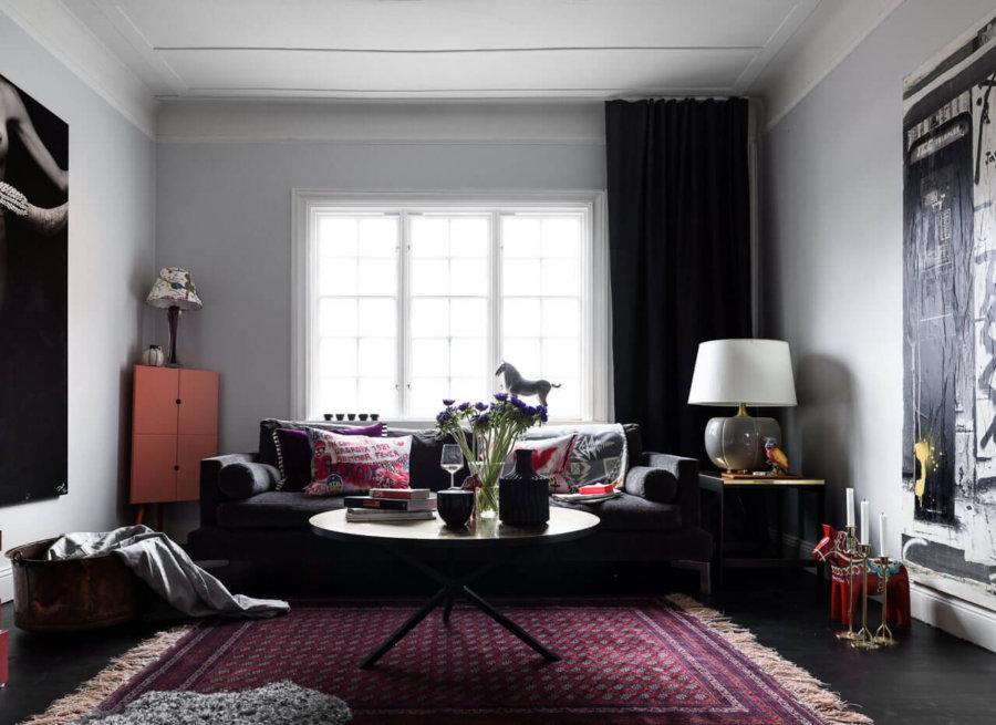 【海外イメージ画像】もう色で迷わない!床が黒いフローリングのお部屋のおしゃれなインテリア実例集